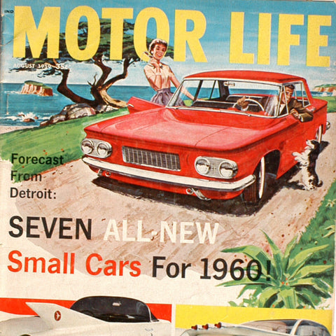 1959 MOTOR LIFE Magazine / Small Cars For 1960's WHATS AHEAD LUXURY CARS