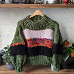 Mixed Media Sweater No.4