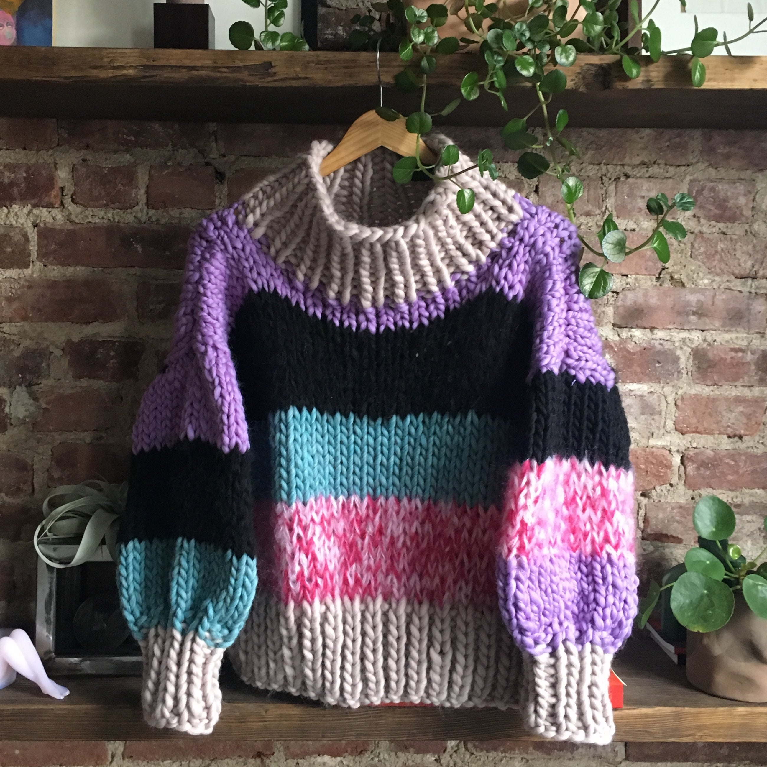 Mixed Media Sweater Pattern