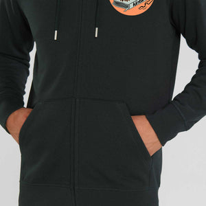 Kintaro Deadly Icon Zip Hoodie - Black