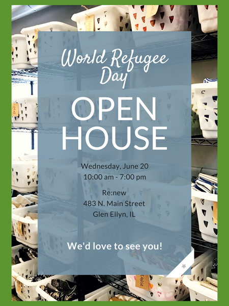 World Refugee Day Open House