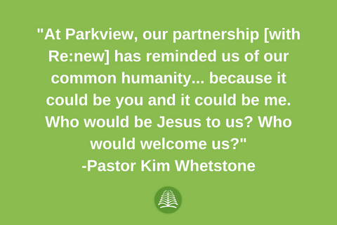 Pastor Kim Whetstone and Re:new