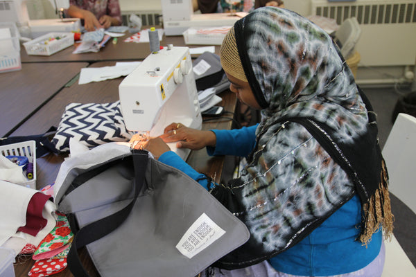 Faduma sewing You are Enough Messenger