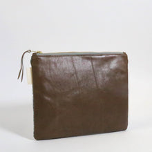 Flat Leather Clutch