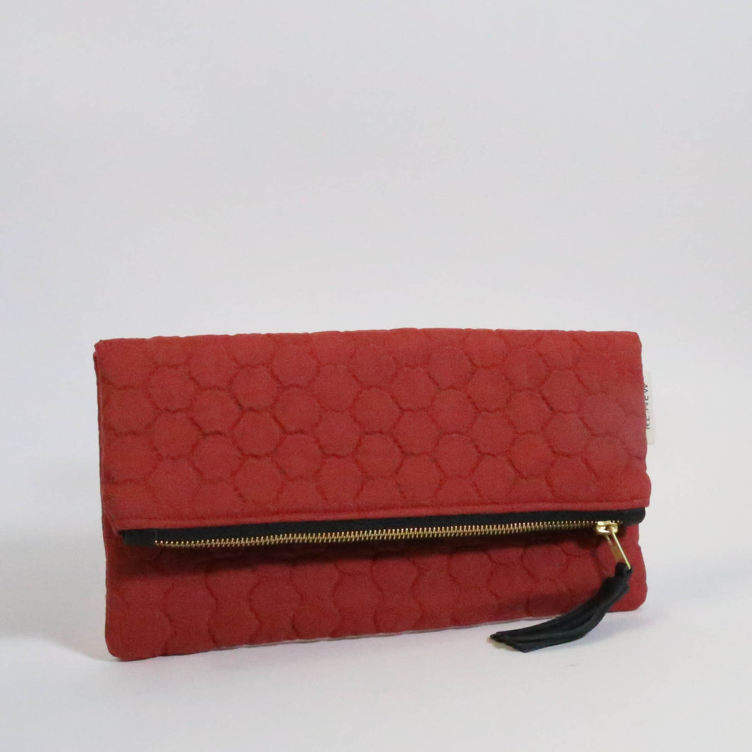 Ahlam Foldover Clutch