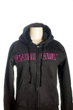 FisherGirl Black Zip-Up Hoodie
