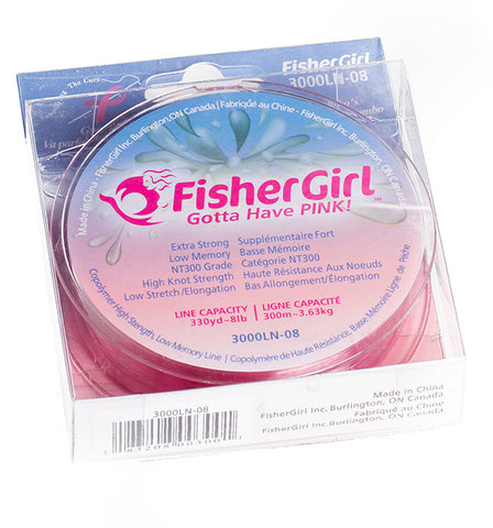 PINK Fishing Line 2-Pack