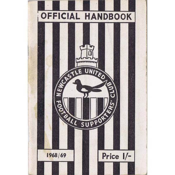 Newcastle United Official Handbook | 1968/69 |  The Mag Shop