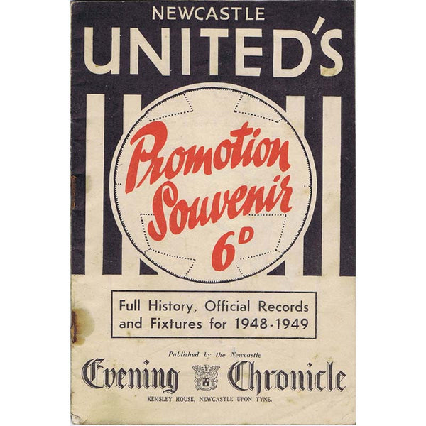 Newcastle United's Promotion Souvenir Brochure | 1948 |  The Mag Shop