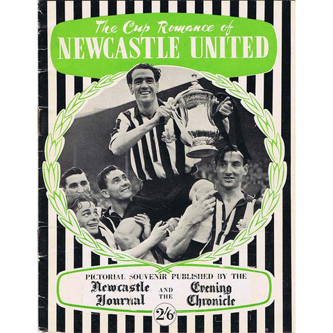 The Cup Romance of Newcastle United | Pictorial Souvenir | 1952 Evening Chronicle Booklet | The Mag Shop