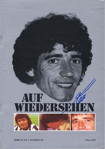 Auf Wiedersehen Kev | Kevin Keegan - Tribute To A Superstar | Official Brochure | 1984
