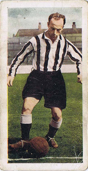 Ivor Broadis | Newcastle United | Trading Card | NUFC The Mag Shop