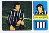 Terry McDermott | Newcastle United | Football Sticker | NUFC The Mag Shop