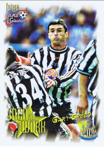 Gary Speed | Newcastle United | Trading Card | NUFC The Mag Shop
