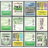 Newcastle United Fairs' Cup Winners Programme Trading Card Set | The Mag Shop