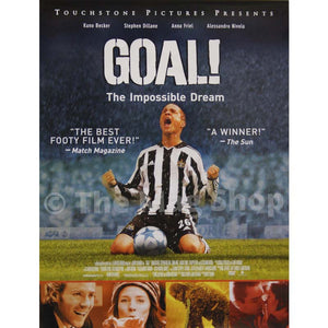 Goal | Original Movie Poster | Newcastle United | The Mag Shop