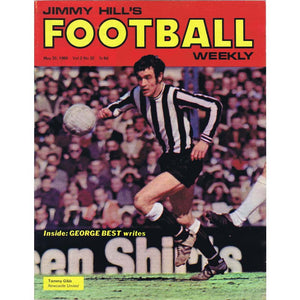 Jimmy Hill's Football Weekly Magazine | 30 May 1969 | Newcastle United | The Mag Shop
