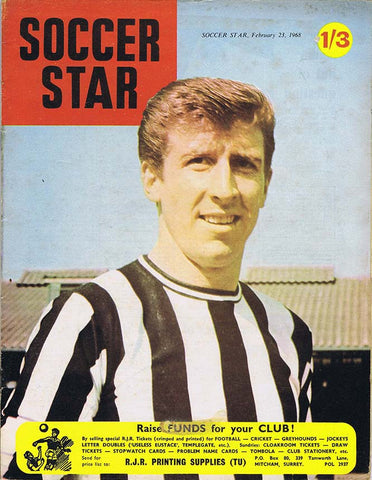 Soccer Star Magazine | 23 February 1968 | Newcastle United | The Mag Shop