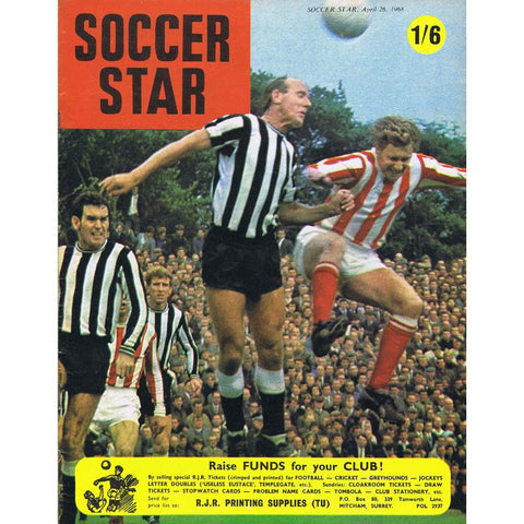 Soccer Star Magazine | 26 April 1968 | Newcastle United | The Mag Shop