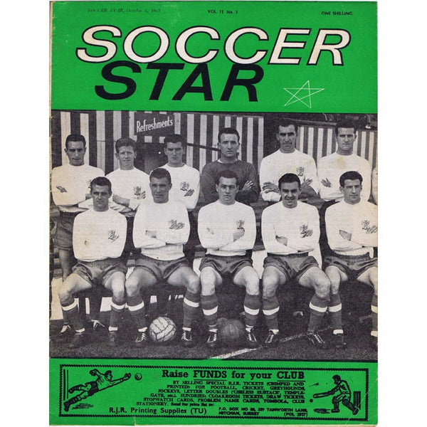 Soccer Star Magazine | 6 Oct 1962 | Newcastle United | The Mag Shop
