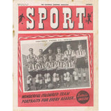 Sport Magazine | December 1949 | Newcastle United | The Mag Shop