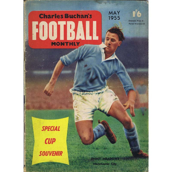 Charles Buchan Football Monthly Magazine | May 1955 | Newcastle United | The Mag Shop