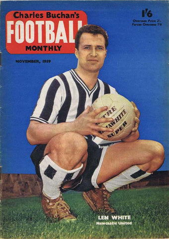 Charles Buchan Football Monthly Magazine | Nov 1959 | Newcastle United | The Mag Shop