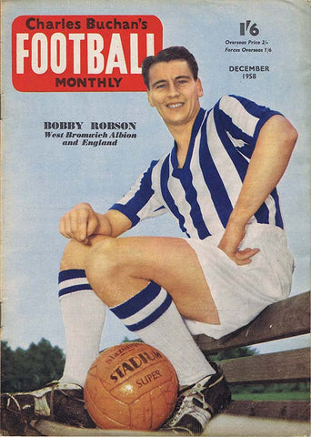 Charles Buchan Football Monthly Magazine | Dec 1958 | Newcastle United | The Mag Shop