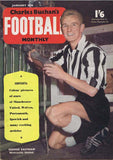 Charles Buchan Football Monthly Magazine | Jan 1958 | George Eastham |  NUFC The Mag Shop