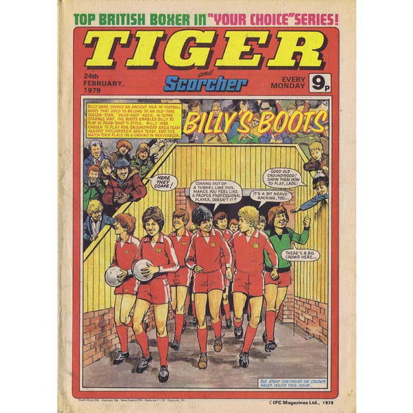 Tiger Comic | 24 February 1979 | Newcastle United | The Mag Shop