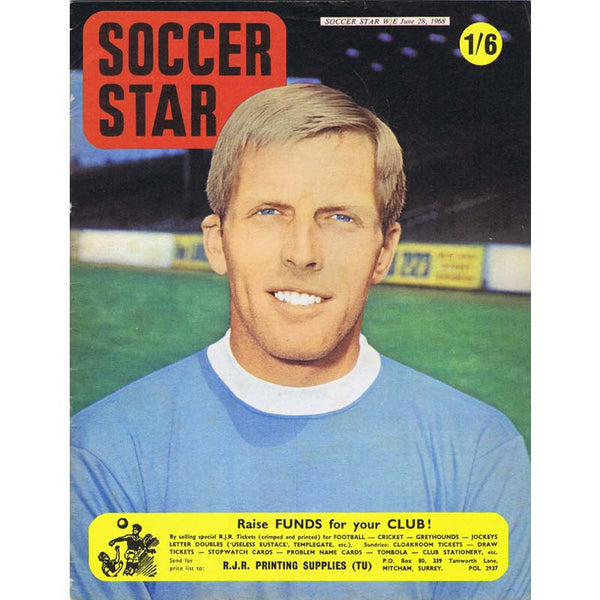 Soccer Star Magazine | 28 June 1968 | Newcastle United | The Mag Shop