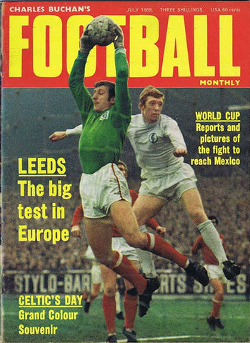 Charles Buchan Football Monthly Magazine July 1969 | NUFC The Mag Shop