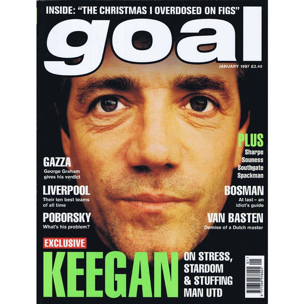 Goal Magazine | January 1997 | Newcastle United | Kevin Keegan | The Mag Shop