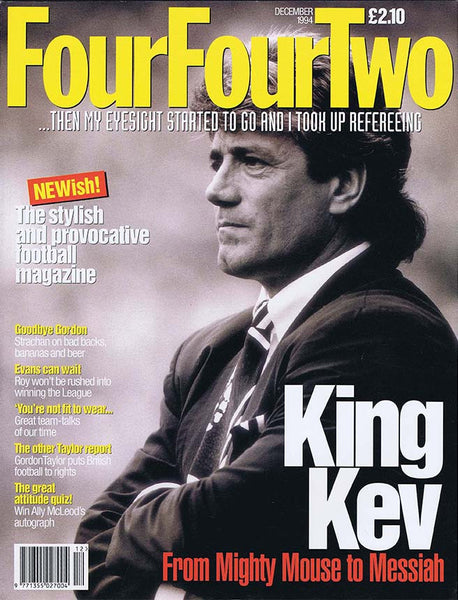 FourFourTwo Magazine | December 1994 | Newcastle United | Kevin Keegan | The Mag Shop