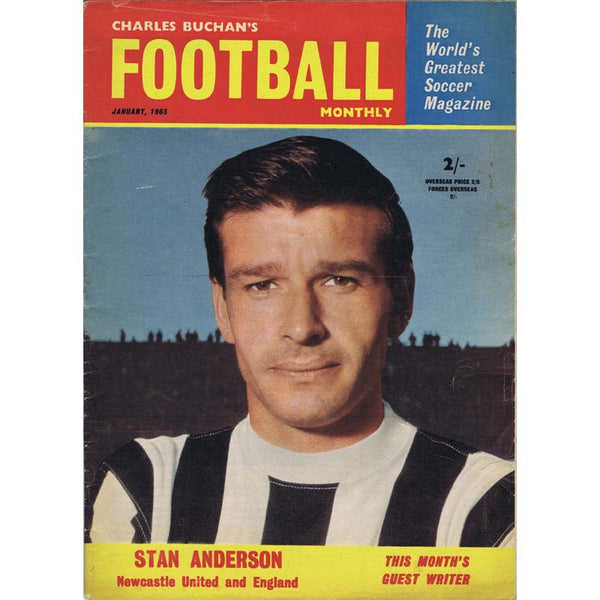 Charles Buchan Football Monthly Magazine | Jan 1965 | Newcastle United | The Mag Shop