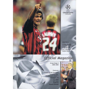 UEFA Champions League Official Magazine - Group Stage 2 2002-03 | Newcastle United | The Mag Shop
