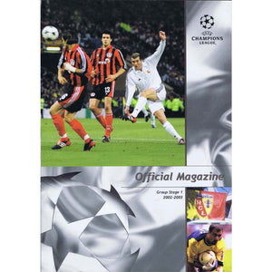 UEFA Champions League Official Magazine - Group Stage 1 2002-03 | Newcastle United | The Mag Shop