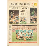 Newcastle United Fairs Cup | Daily Express Special Colour Pullout | Vitoria Setubal Quarter Final | The Mag Shop