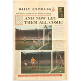 Newcastle United Fairs Cup | Daily Express Special Colour Pullout | Ujpest Dozsa Final | The Mag Shop