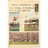 Newcastle United Fairs Cup | Daily Express Special Colour Pullout | Glasgow Rangers Semi Final | The Mag Shop