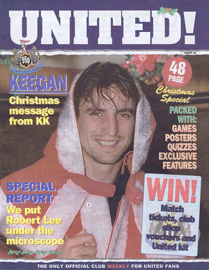 United! Magazine 1996 Newcastle United David Ginola