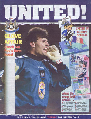 United! Magazine 1997 - Pavel Srnicek Newcastle United
