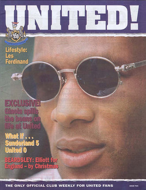 United! Magazine 1996 - Les Ferdinand Newcastle United