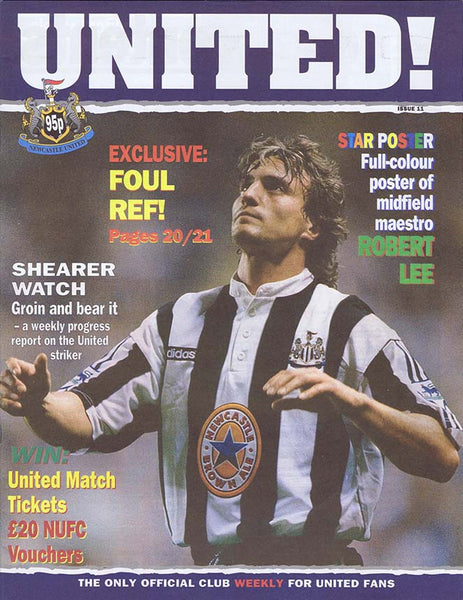 United! Magazine 1996 Newcastle United Magazine | NUFC The Mag Shop