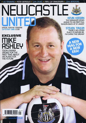 Newcastle United Official Magazine No.1 | September 2008 | NUFC The Mag Shop