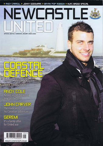 Newcastle United Official Magazine No.5 | January 2009 | NUFC The Mag Shop
