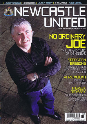 Newcastle United Official Magazine No.6 | February 2009 | NUFC The Mag Shop