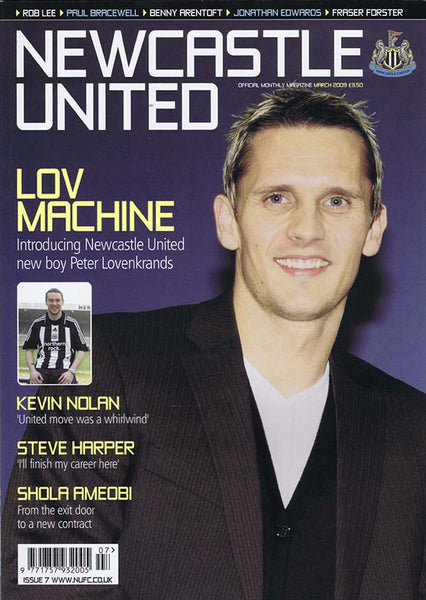 Newcastle United Official Magazine No.7 | March 2009 | NUFC The Mag Shop