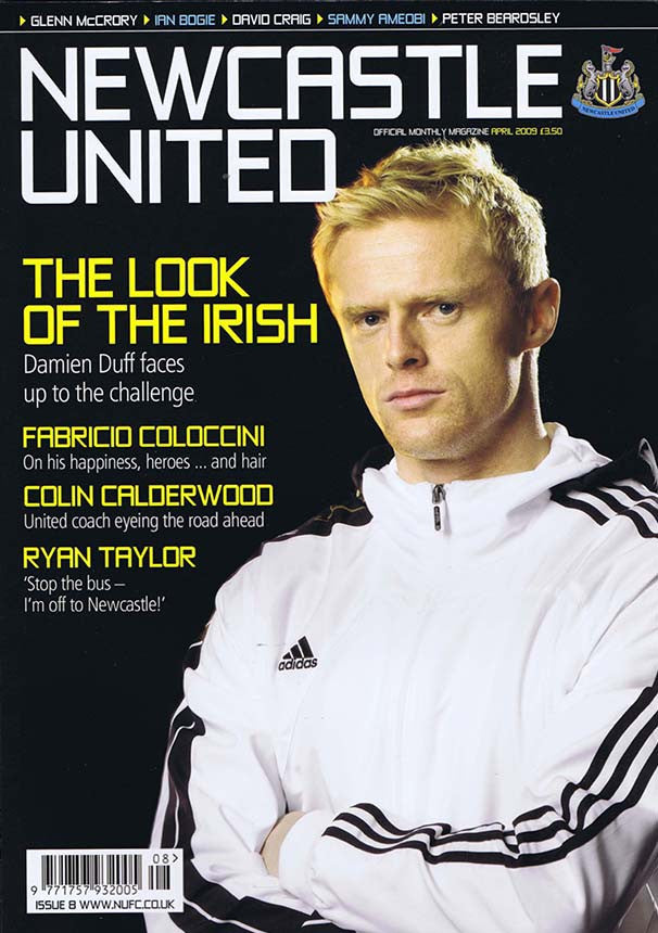 Newcastle United Official Magazine No8