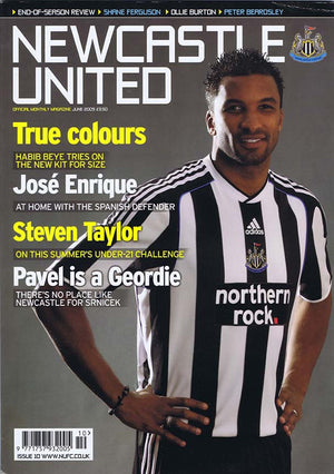 Newcastle United Official Magazine | June 2009 | NUFC The Mag Shop